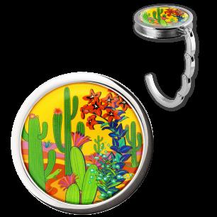 Handbag hook - Dîner en Ville - Cactus