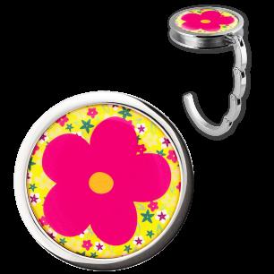 Handbag hook - Dîner en Ville - Flower