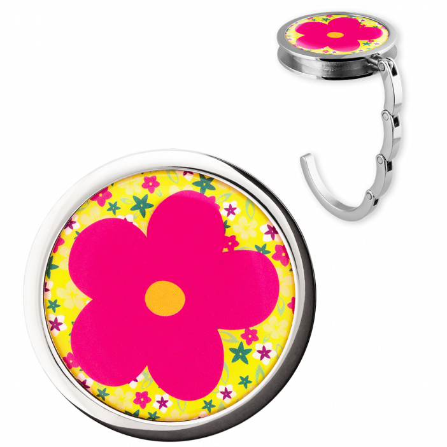 Handbag hook - Dîner en Ville Flower