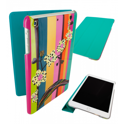 Case for iPad mini 2 and 3 - I Smart Cover - Orchid