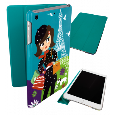 Case for iPad mini 2 and 3 - I Smart Cover - Parisienne