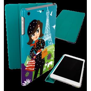 Coque pour iPad mini 2 et 3 - I Smart Cover - Parisienne