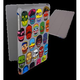 Coque pour iPad mini 2 et 3 - I Smart Cover - Skull 3