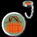 Handbag hook - Dîner en Ville Coquelicots