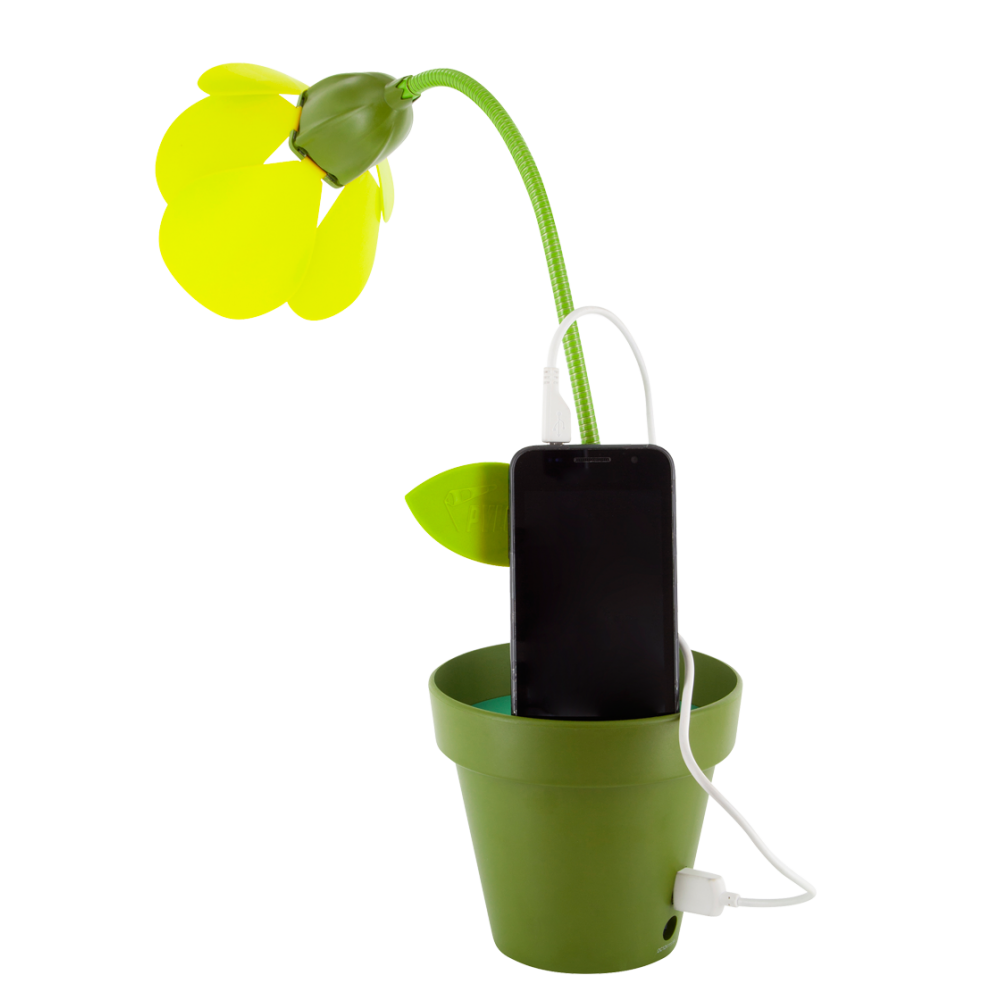 lampe fleur led usb i touch pylones. Black Bedroom Furniture Sets. Home Design Ideas