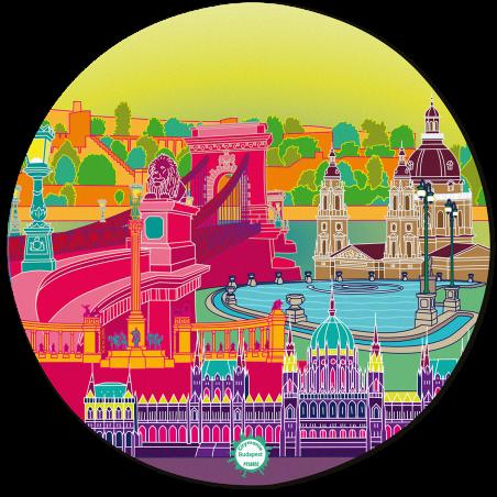 Mouse pad - Tapiron Citymania Budapest