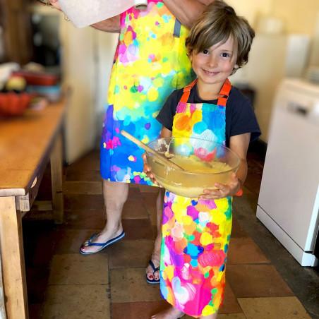 Children's Apron - L'enfance de l'Art Palette