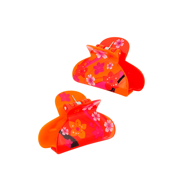 Ladyclip Small - Pince à cheveux crabe Kimono