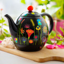 Electric kettle with european plug - Byzance Orchid