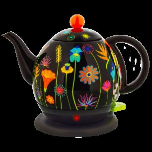 Electric kettle with european plug 1 L - Byzance - Jardin fleuri
