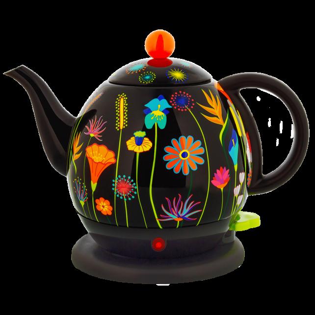 Wasserkocher - Byzance Jardin fleuri