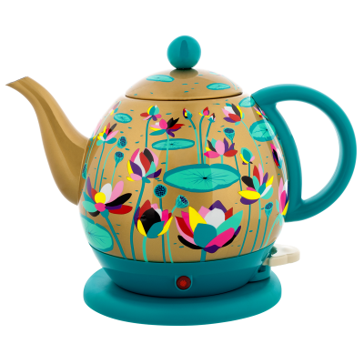Electric kettle with european plug - Byzance - Lotus