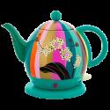 Electric kettle with european plug - Byzance Jardin fleuri