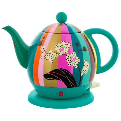 Electric kettle with european plug 1 L - Byzance - Orchid
