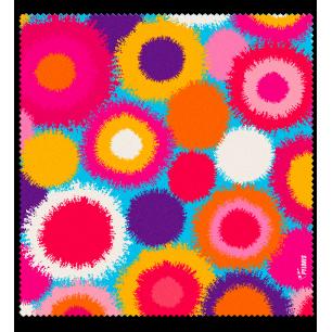 Microfibre cloth for glasses - Belle Vue - Pompon