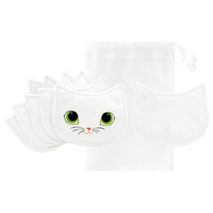Set de 6 disques démaquillants lavables - Beautycat
