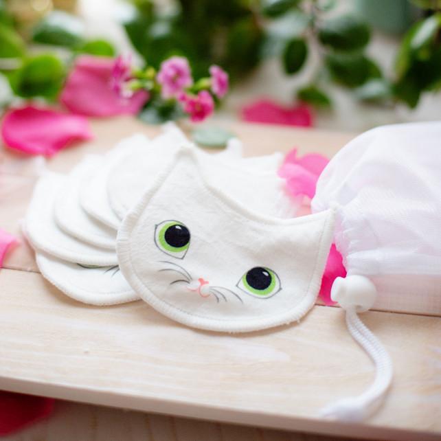Set mit 6 waschbaren Make-up-Entfernungsscheiben - Beautycat