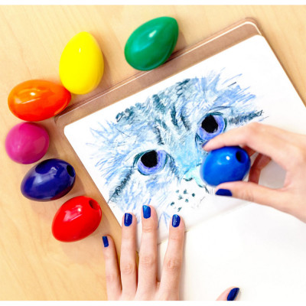 Crayons de couleur - Couloeufs