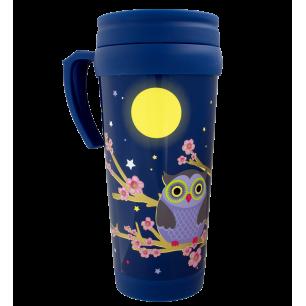 Kaffeebecher 35 cl - Starmug - Blue Owl