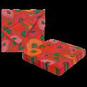 Paper Party - Confezione da 20 tovaglioli di carta Coquelicots