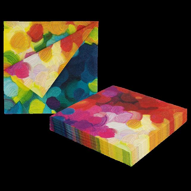 Paper Party - 20er-Pack Papierservietten Palette