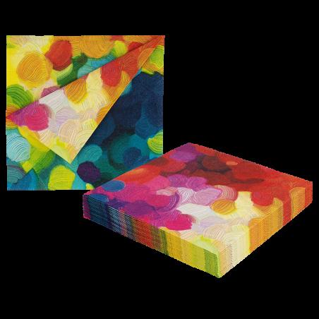 Paper Party - 20er-Pack Papierservietten Coquelicots