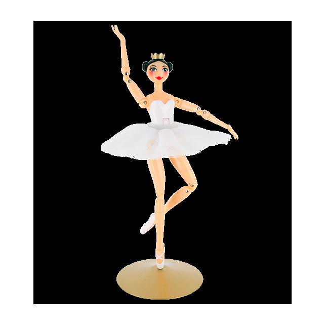 Larabesque - Poupée danseuse Bianco