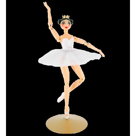Poupée danseuse - Larabesque Blanc
