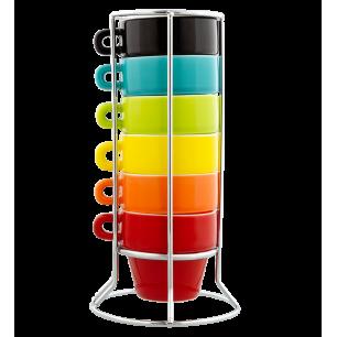Torre di tazze ristretto - Néon