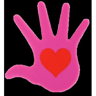 Trivet - Le Coeur Sur La Main - Pink