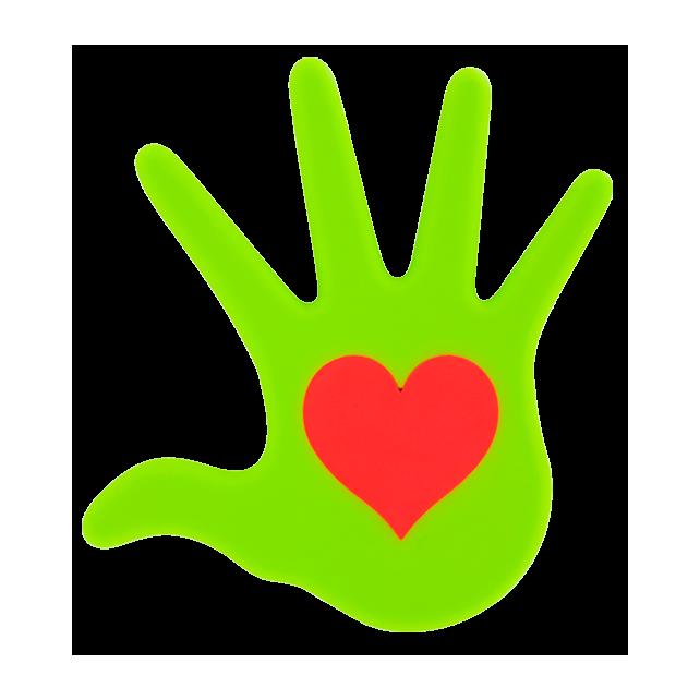 Dessous de plat - Le Coeur Sur La Main Vert