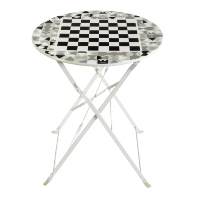 Folding table - Garden Paradise - Chess