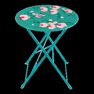 Tavolo da giardino in ferro - Garden Paradise - Orchid Blue