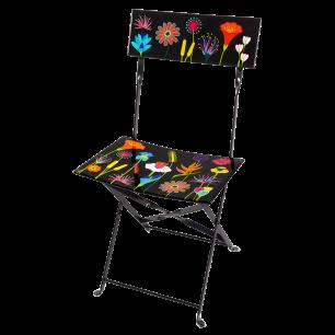 Chaise pliante - Garden Paradise - Jardin fleuri