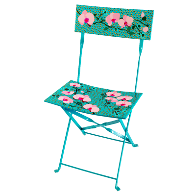 Folding chair - Garden Paradise - Orchid Blue