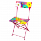 Folding chair - Garden Paradise Orchid Blue