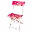 Folding chair - Garden Paradise Coquelicots