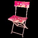 Folding chair - Garden Paradise Jardin fleuri