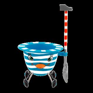 Eierbecher - Cocotte - Blau