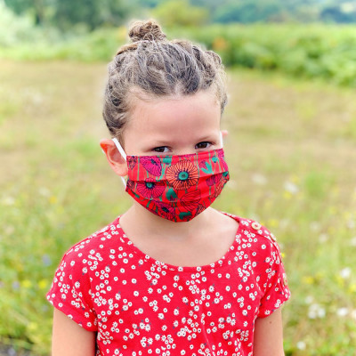 Mask in washable and reusable fabric - Hidden Smile Medium