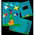 Little Bobo's - Protège carnet de santé Blue