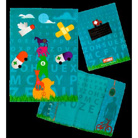 Protège carnet de santé - Little Bobo's Bleu