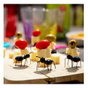 Set of 20 cocktail sticks - Ant Pick Party