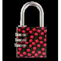 Lock Me Up - Cadenas à combinaison Cherry