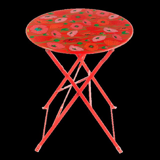 Tavolo da giardino in ferro - Garden Paradise Coquelicots