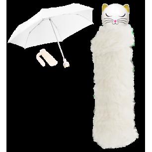 Taschenschirm - Chapka - White Cat