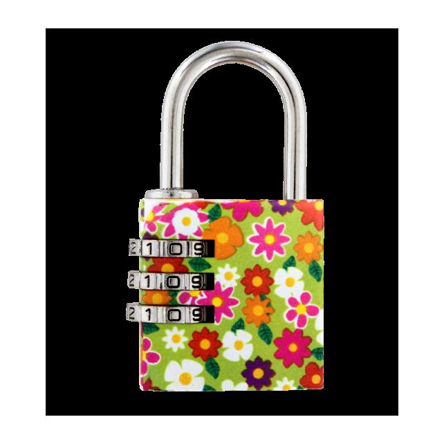 Combination lock - Lock Me Up Little Flowers