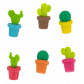 Set of 6 glass markers - Happy Markers