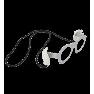 Cordon à lunettes - Bas Les Pattes - Blanc