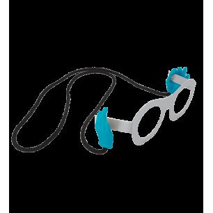 Cordon à lunettes - Bas Les Pattes - Bleu